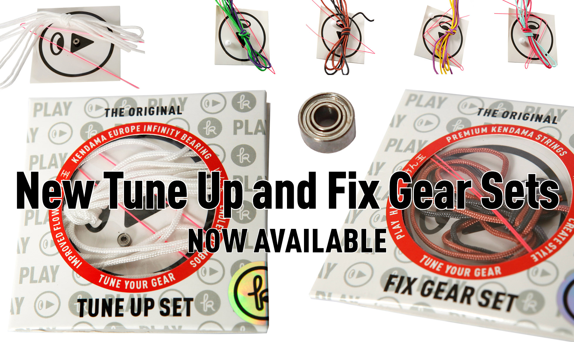 KENDAMA TUNE UP AND FIX GEAR SETS