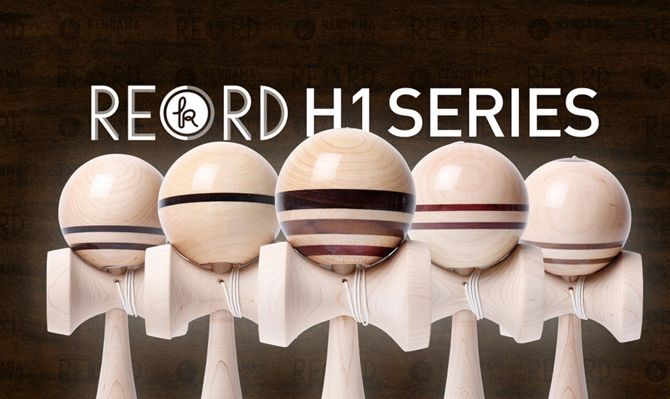 RECORD Kendama - H1 Hardwood